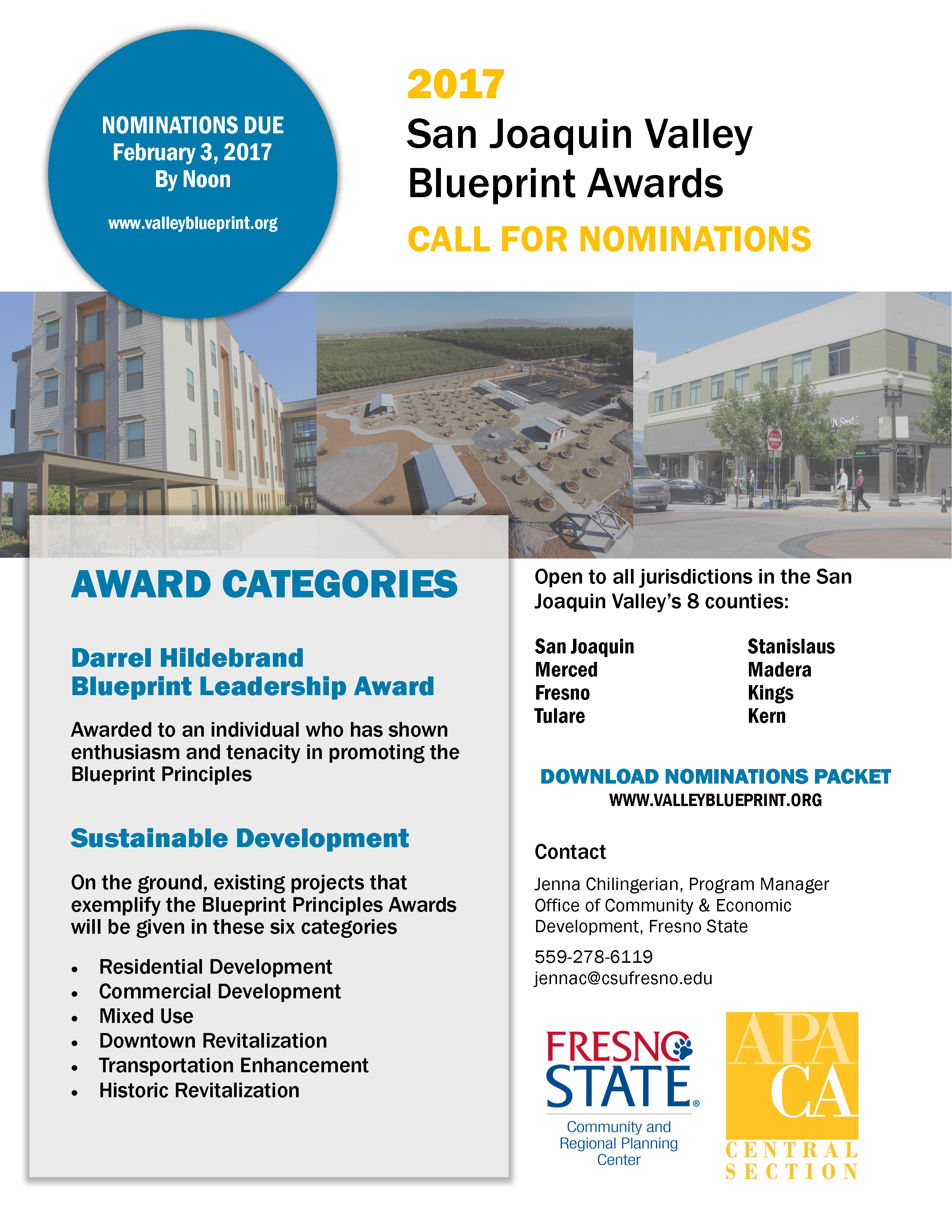 2017 call for nominations san joaquin valley blueprint awards 2017 call for nominations san joaquin valley blueprint awards sjcog newsroom malvernweather Image collections