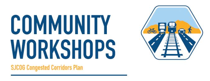Community Workshops banner